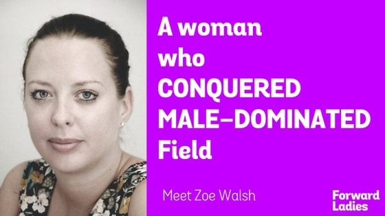 A Woman Who Conquered Male-Dominated Field