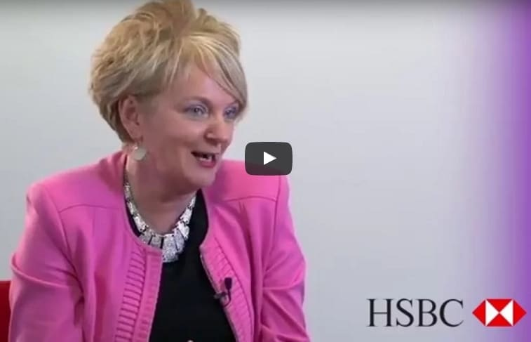 Video: Debra White from HSBC - On working your way up